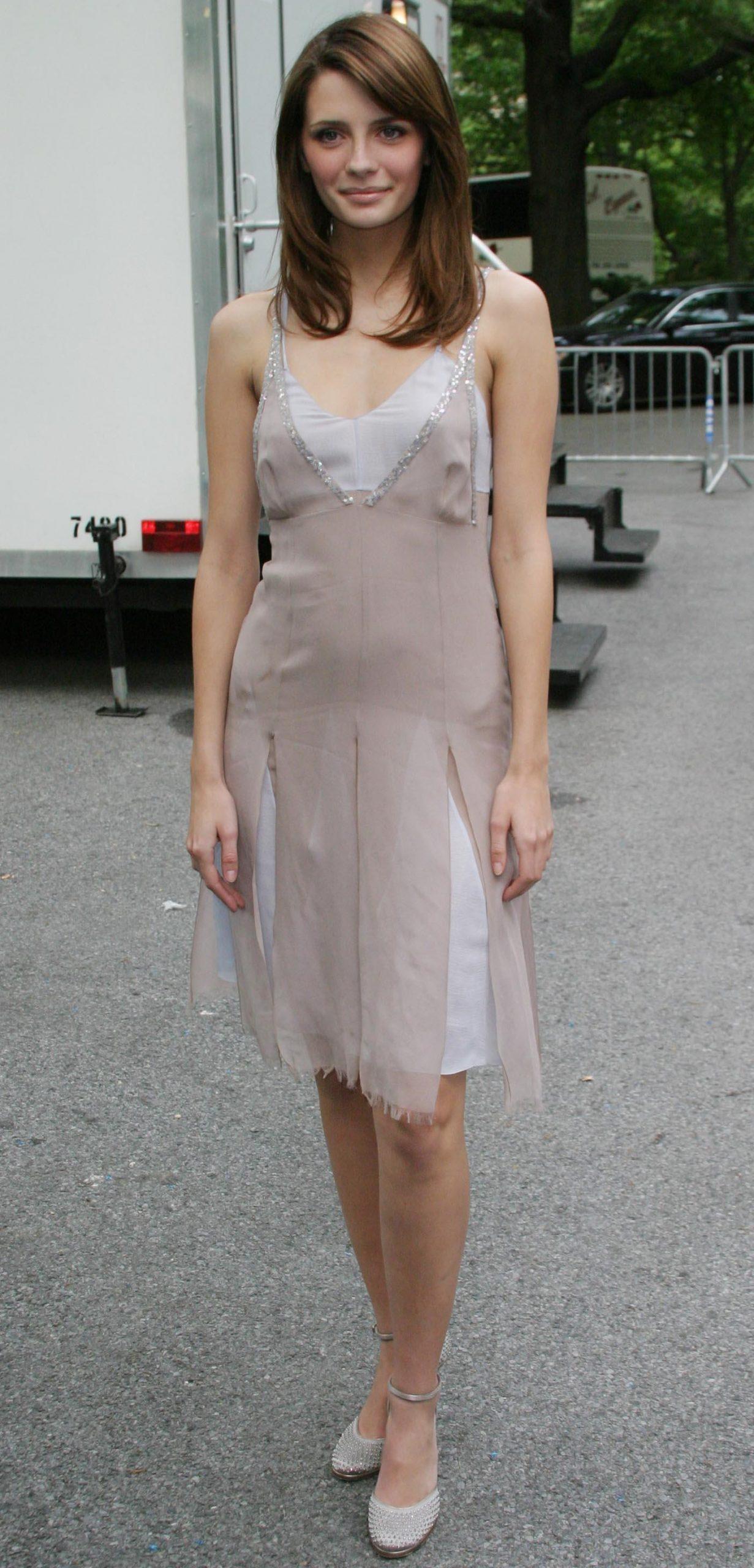 The O.C. actress Mischa Barton during Fox Upfront 2004-2005 Programming Presentation