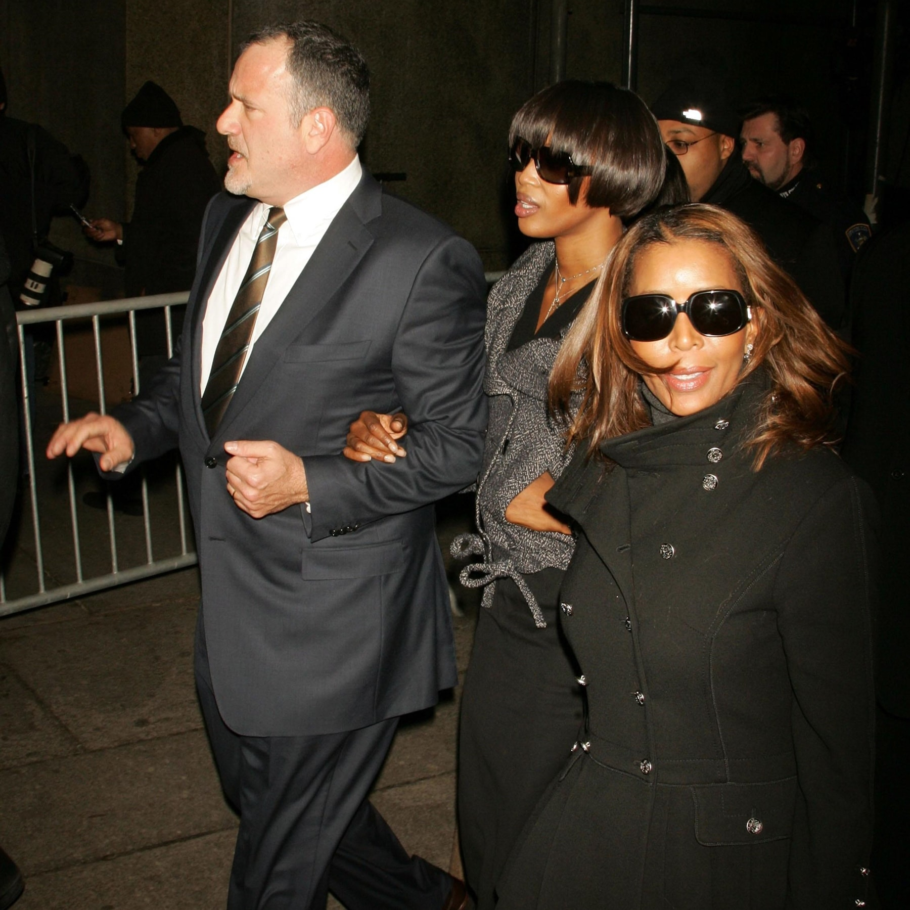 In January 2007, supermodel Naomi Campbell was sentenced to 5 days of community service and 2 days of anger management courses in Manhattan's Criminal Court after admitting to assaulting housekeeper Ana Scolavaino in a cellphone throwing incident at Campbell's Park Avenue apartment