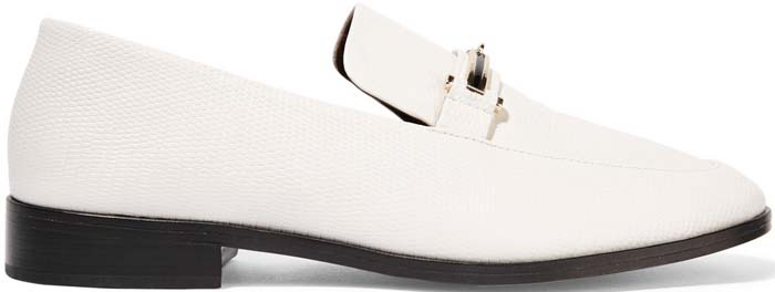 Newbark Melanie Loafers Lizard White