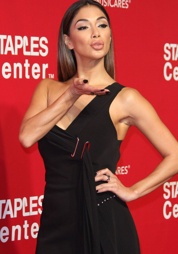 Nicole Scherzinger MusiCares Gucci 4