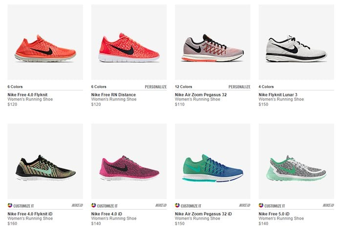 Visit the Nike website to browse the most recent sneakers