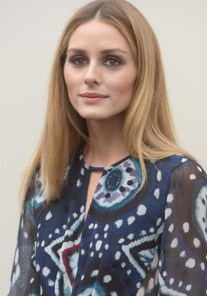 Olivia Palermo LFW Two Looks Tory Burch 1