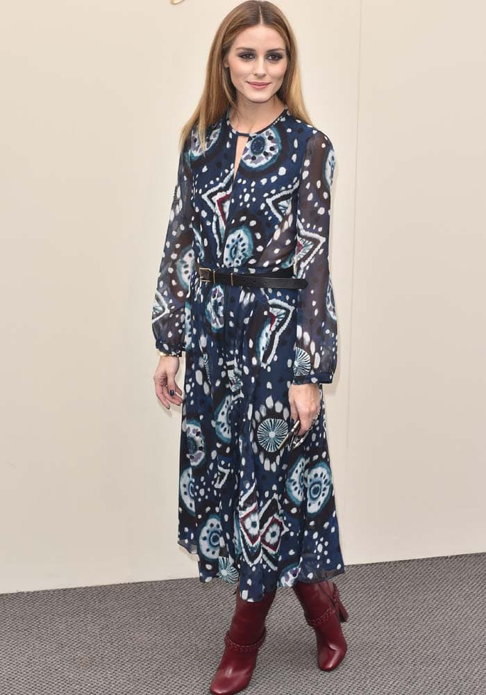 Olivia Palermo LFW Two Looks Tory Burch 5