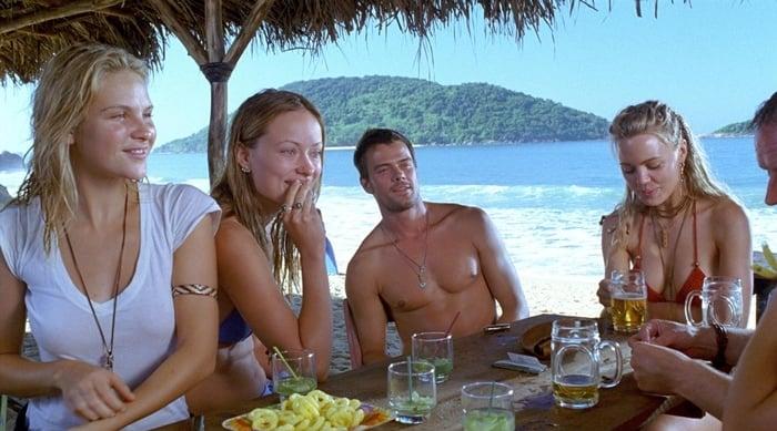 Beau Garrett, Olivia Wilde, Josh Duhamel, and Melissa George in Turistas