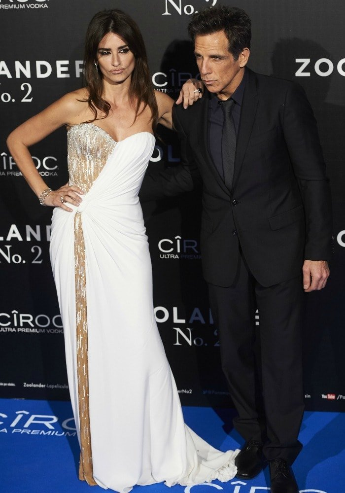 Penelope Cruz Ben Stiller Zoolander 2 Madrid