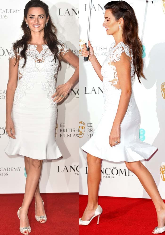 Penélope Cruz at the Lancôme x British Academy of Film and Television Arts Awards (BAFTA) nominees party