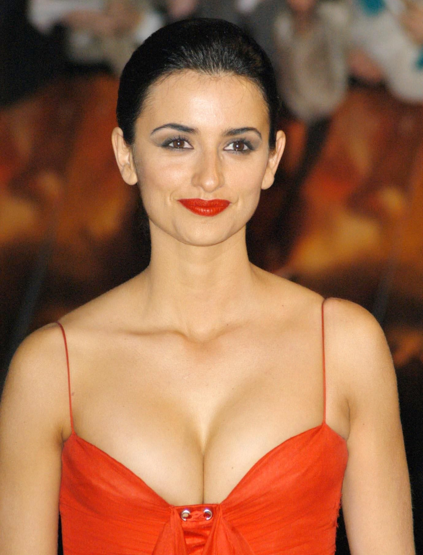 Penelope Cruz made her career breakthrough by baring her boobs in the comedy-drama art house film Jamón Jamón
