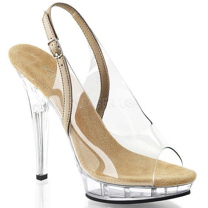 Pleaser Lip-150 Platform Sandals
