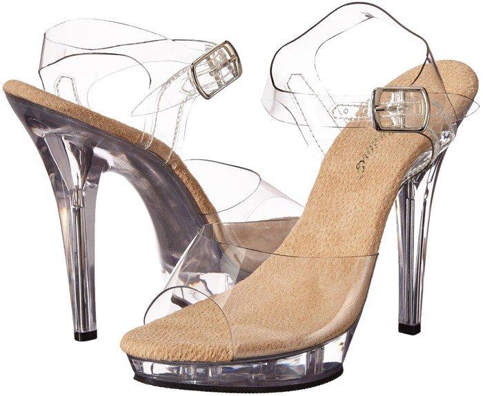Pleaser Women's Lip-latform Sandal