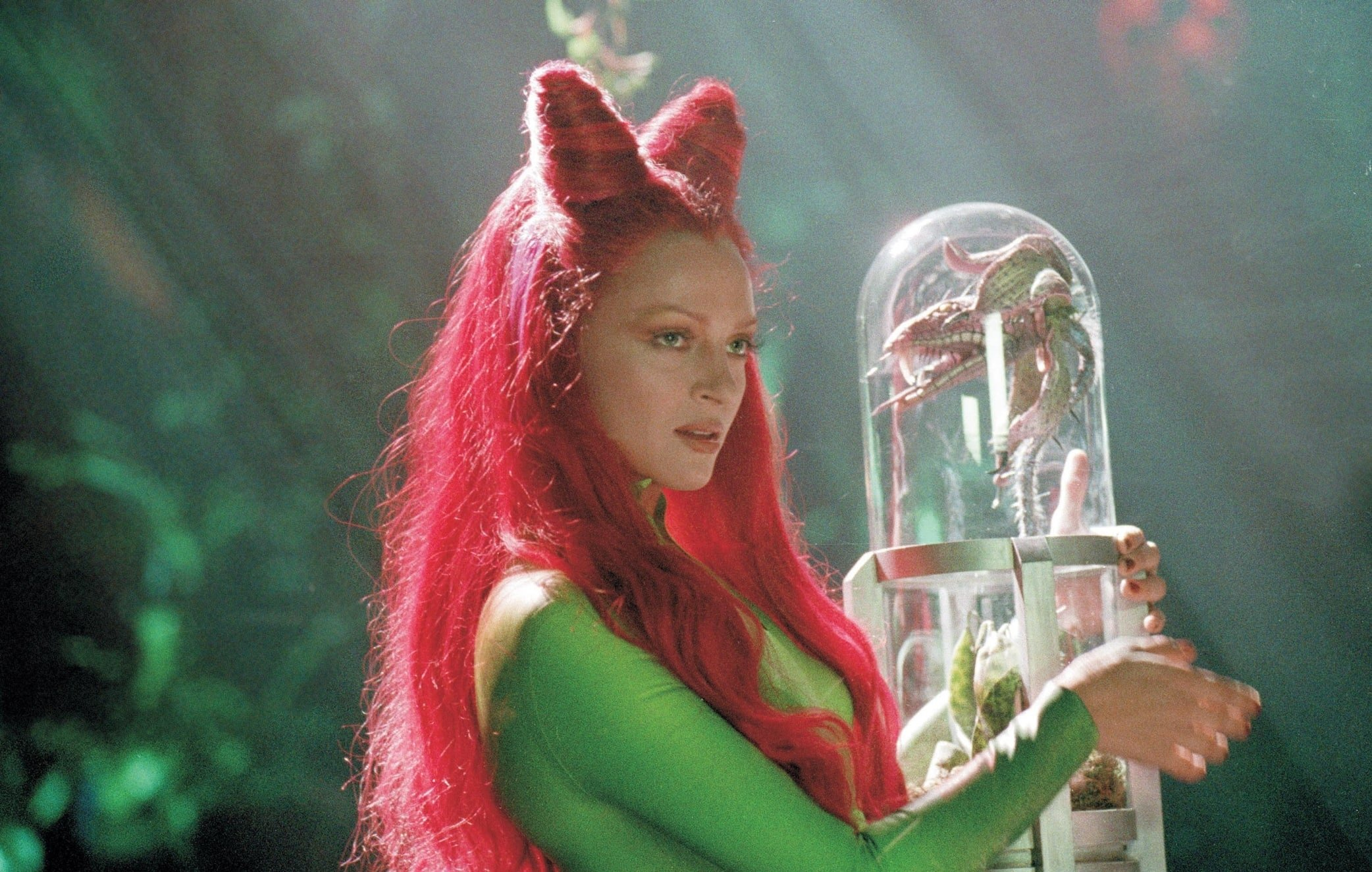 Uma Thurman was 26 when filming Batman & Robin as Poison Ivy