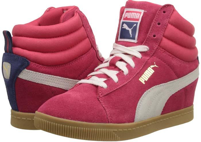 Puma 'PC' Wedge Basic Sports Sneakers