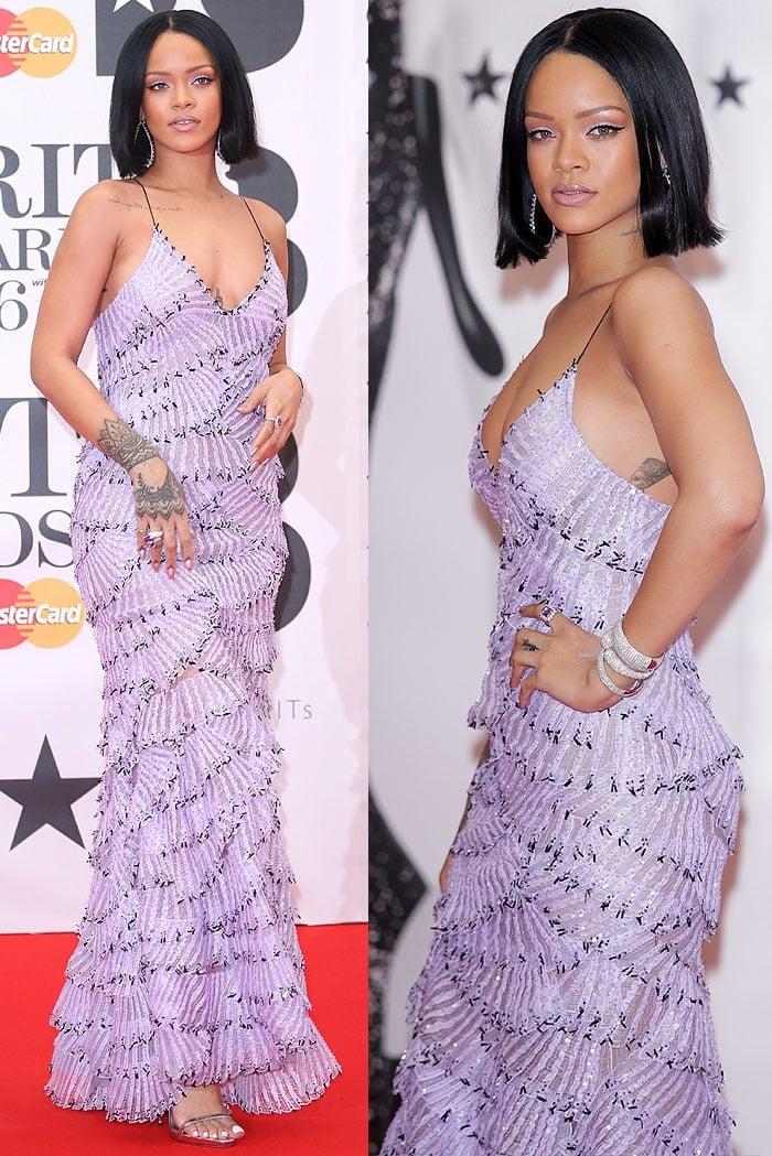 Rihanna 2016 BRIT Awards 5