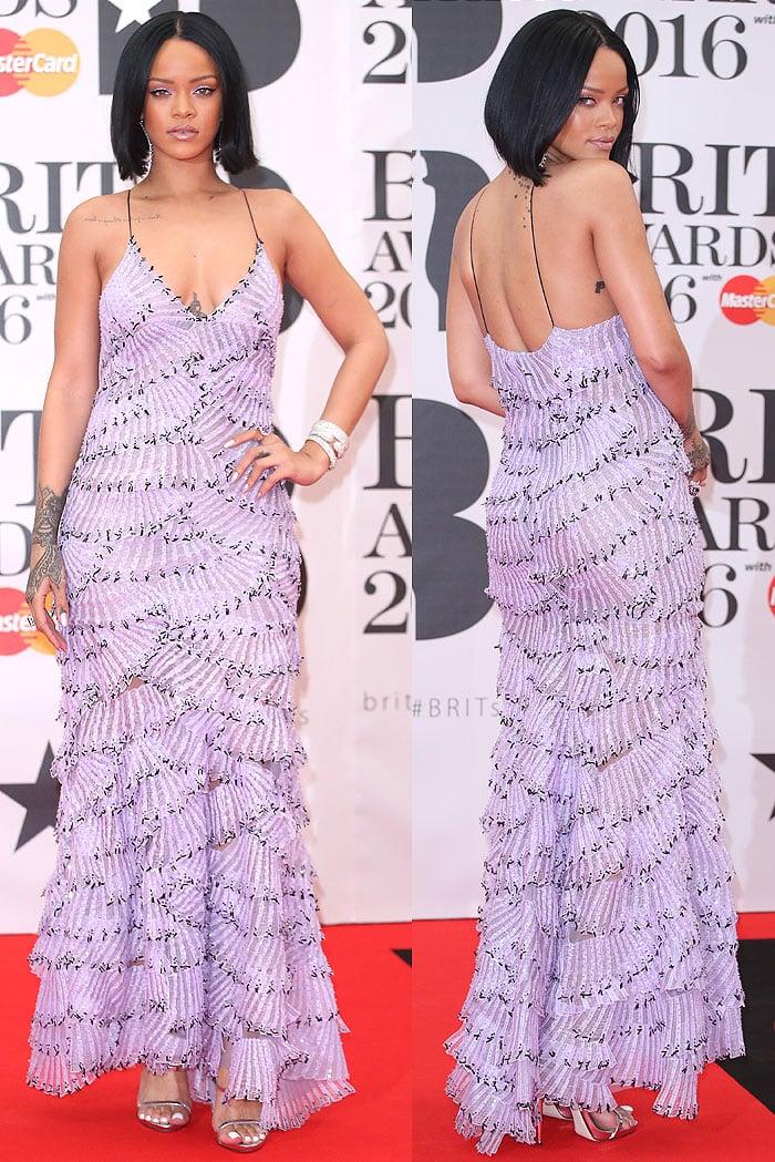 Rihanna 2016 BRIT Awards 6