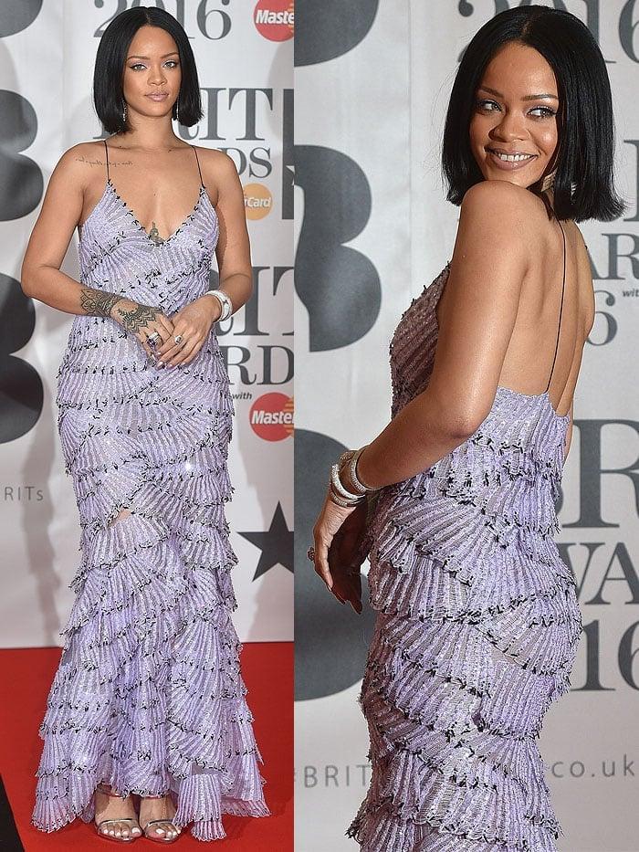 Rihanna wore jewelry by Jack Vartanian and Casa Reale