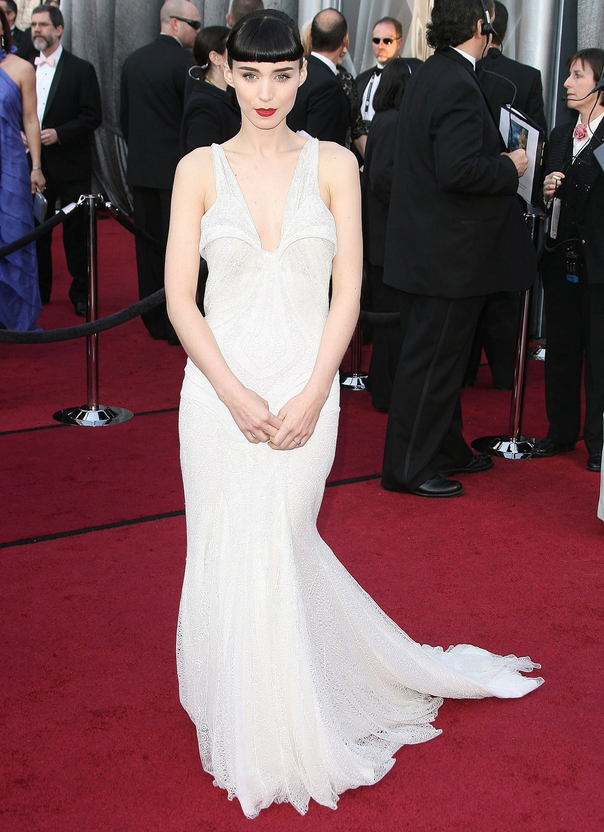 Rooney Mara in Givenchy Couture at the 2012 Oscars