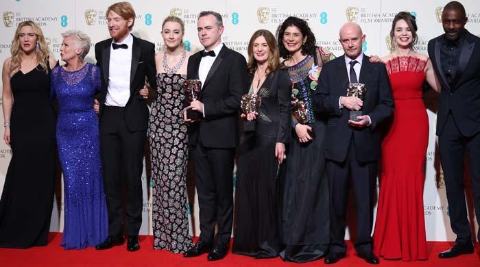 Saoirse Ronan BAFTA Giuseppe Zanotti 4