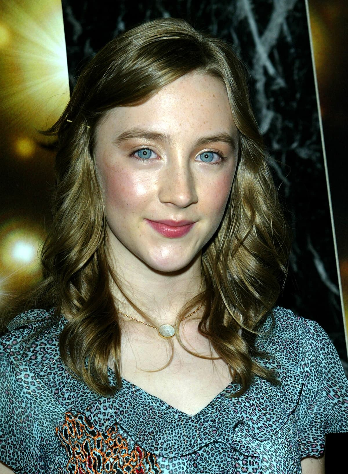 """The then 14-year-old Saoirse Ronan at the premiere of """"City of Ember"""""""