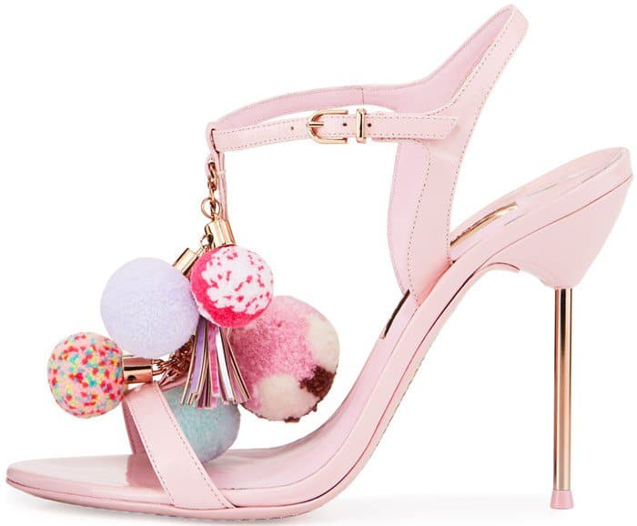 Sophia Webster 'Layla' Pompom 100mm Sandals