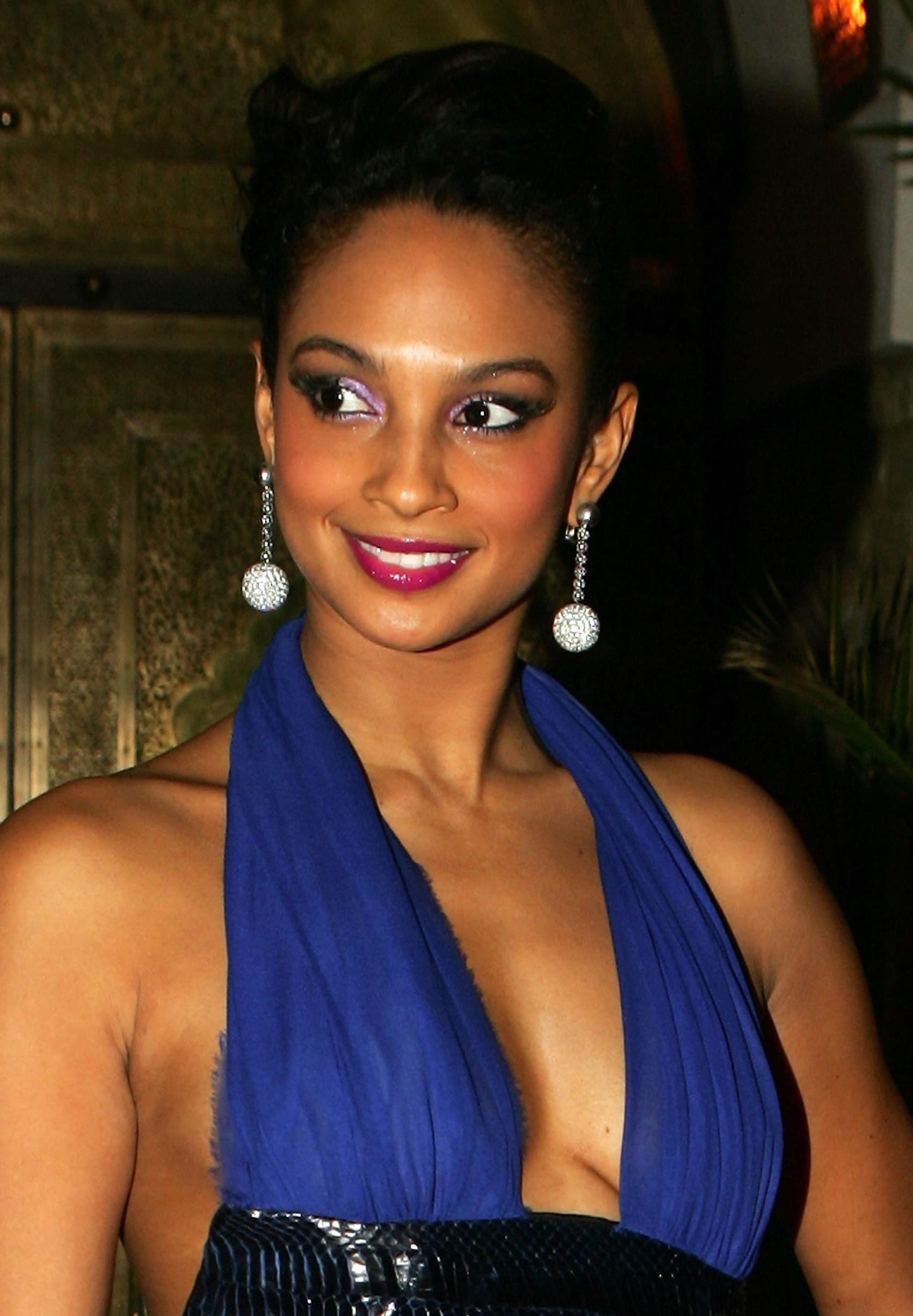 The then 29 year old Strictly Come Dancing 2007 winner Alesha Dixon