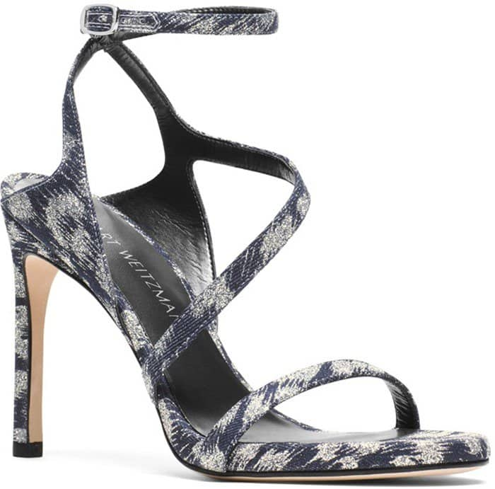 THE SULTRY SANDAL Navy Galaxy Denim