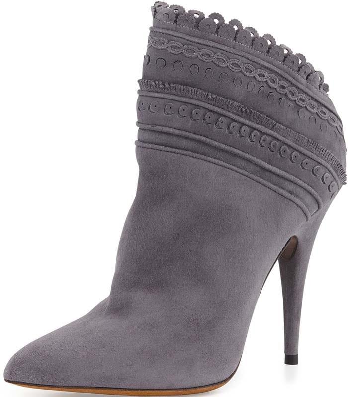 Tabitha Simmons Harmony Ankle Boots Gray