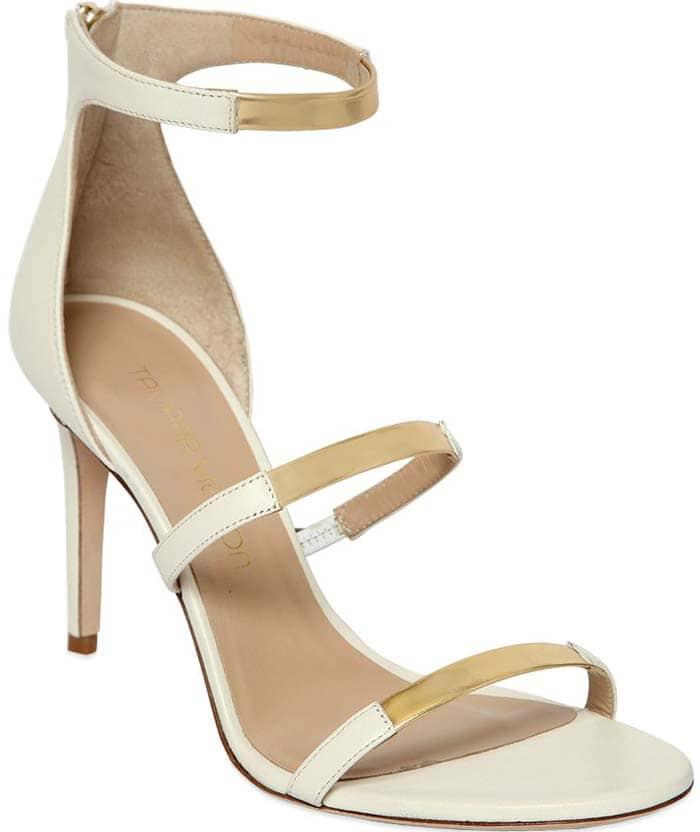 Tamara Mellon 'Intense' Leather Sandal