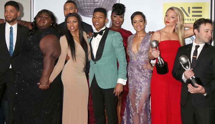 Taraji P Henson NAACP Awards Stuart Weitzman 4