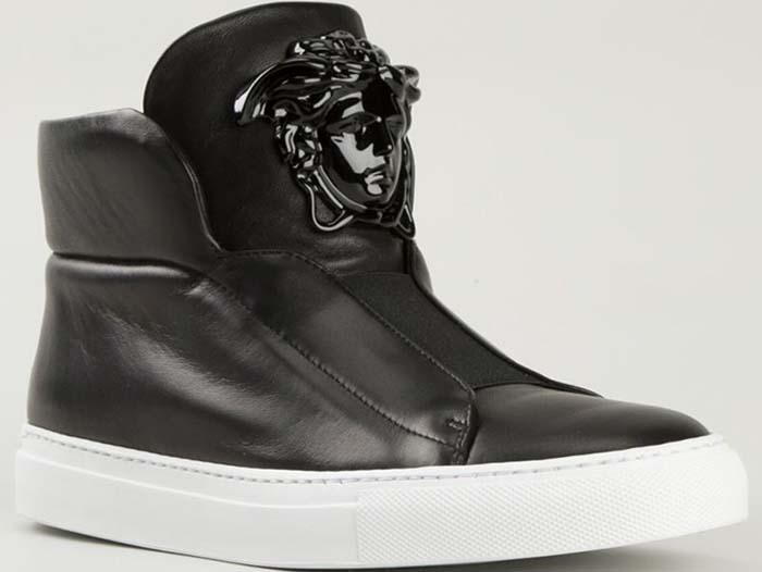 Versace 'Medusa' Hi-Top Sneakers