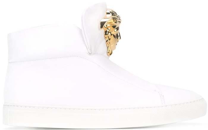 Versace 'Medusa' Slip-On Hi-Top Sneakers