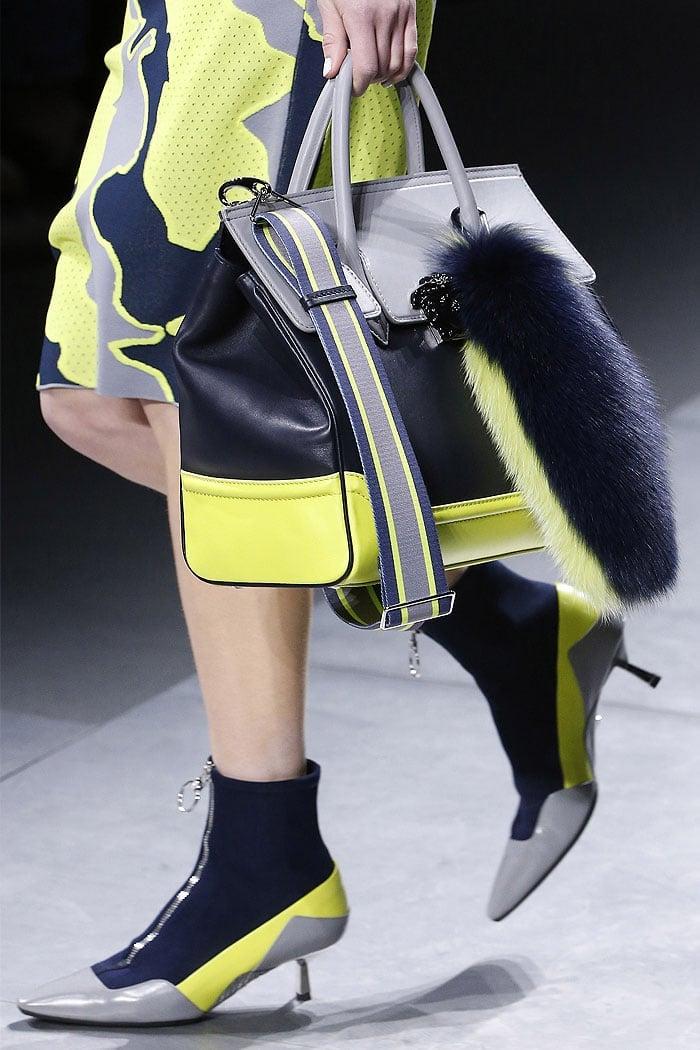 Versace fall 2016 scuba pumps-boots hybrid.