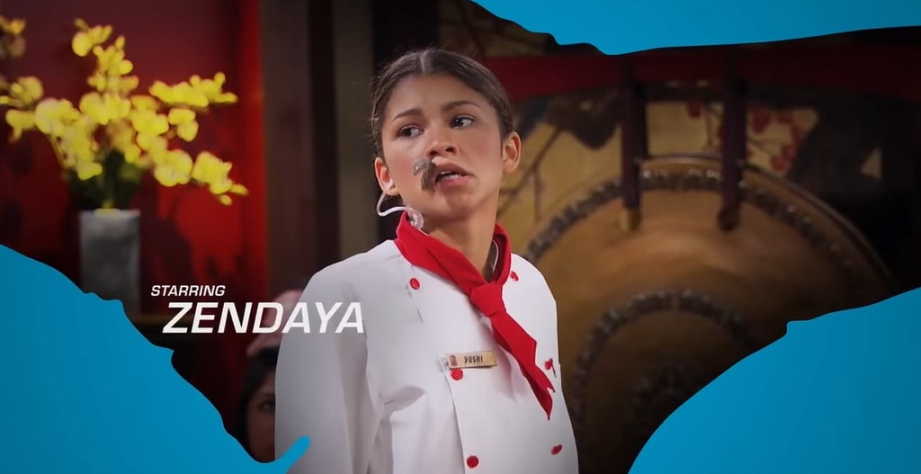 Zendaya as high school student and undercover spy K.C. Cooper, a high school student in K.C. Undercover