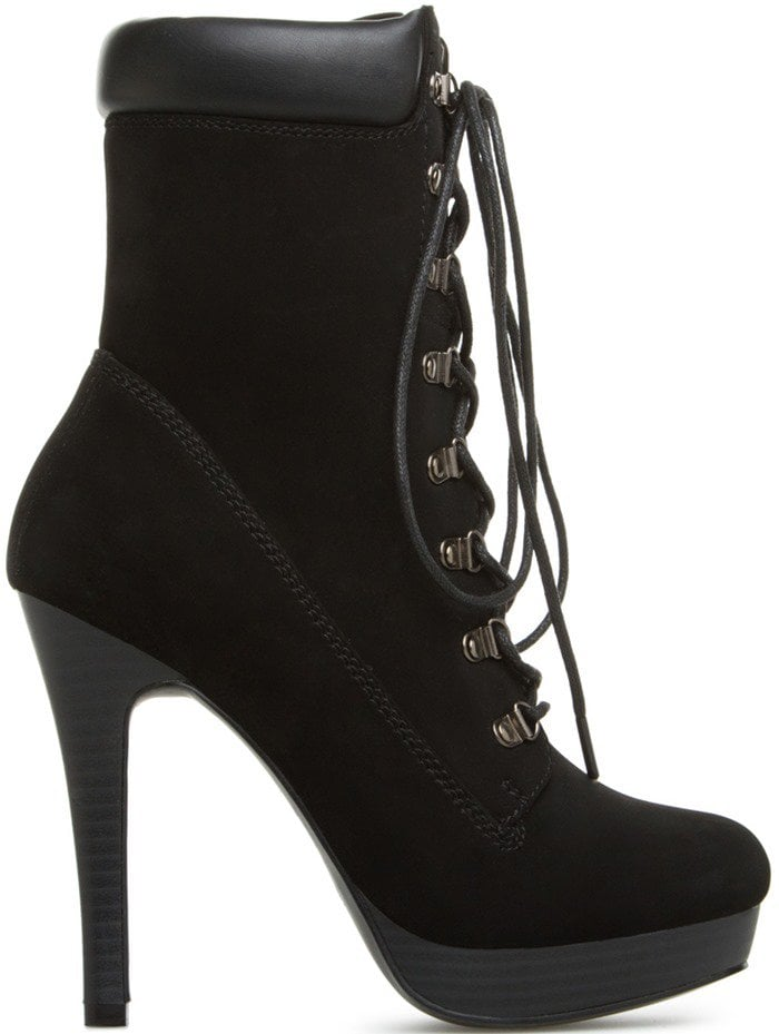 bHiking Boots With High Heels