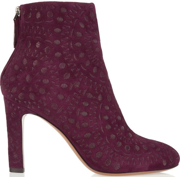 These ankle boots are lined in leather for the most comfortable fit and have lightly gripped insets on the soles to ensure a steady stride