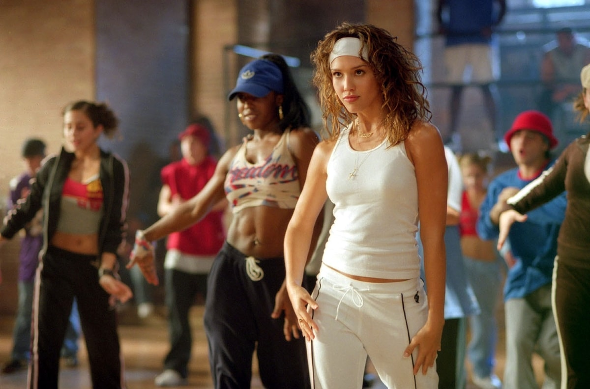 Jessica Alba was 21 years old when filming Honey as aspiring dancer-choreographer Honey Daniels