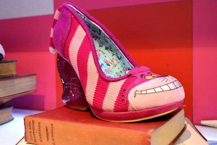 Alice In Wonderland Cheshire Cat Heart Heels