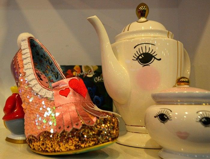 Alice In Wonderland White Rabbit Heels