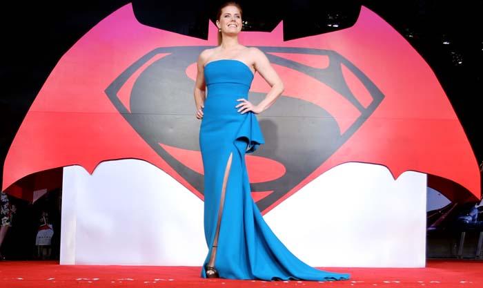 Amy Adams Batman Superman Europe Jimmy Choo 4