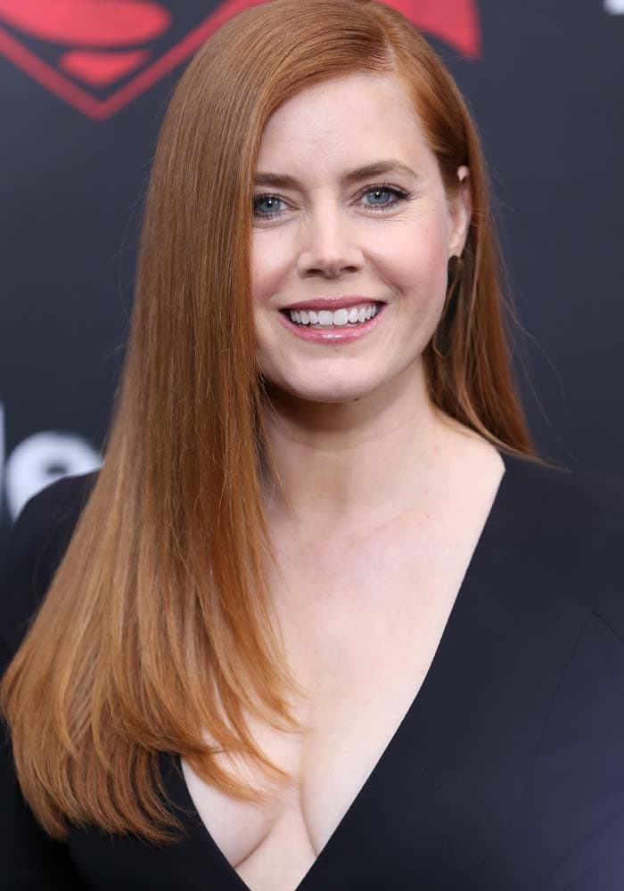 Amy Adams at the New York premiere of Warner Bros. Pictures' 'Batman v Superman: Dawn of Justice' at Radio City Music Hall on March 20, 2016