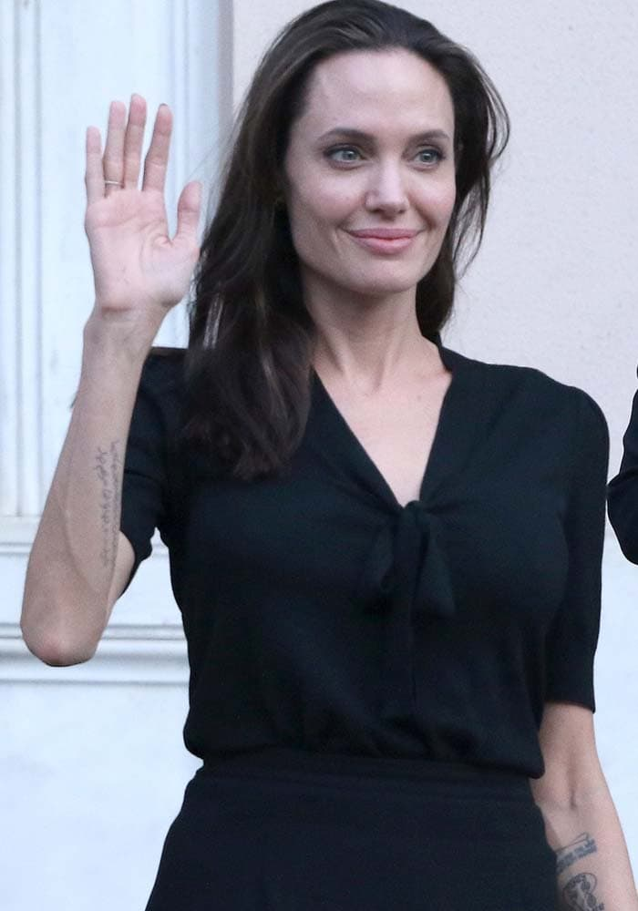 Angelina Jolie Greek Prime Minister Isabel Marant 1
