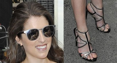 Anna Kendrick S Sexy Feet And Nude Legs In Hot High Heels