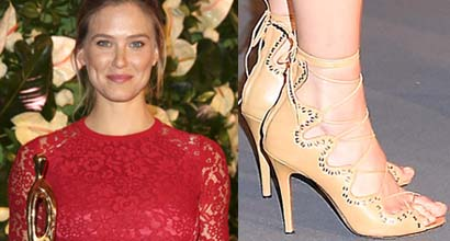 db0bd0e0a36 Bar Refaeli Shows a Hint of Baby Bump at the 2016 People Style Awards in  Germany in Isabel Marant  Lelie  Heels