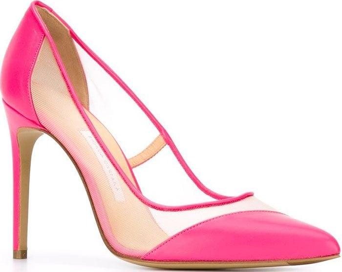 Bionda-Castana-Bay-Pumps-Pink-Leather