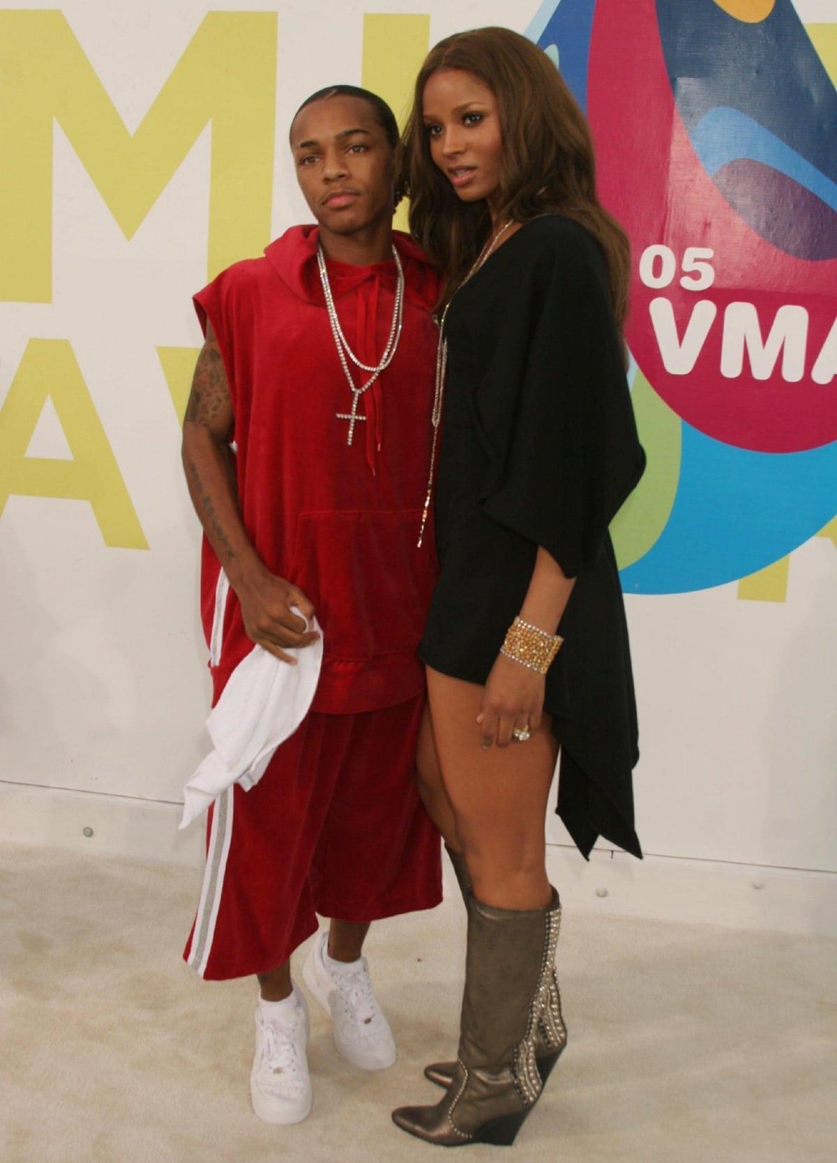 Bow Wow and his girlfriend Ciara at the 2005 MTV Video Music Awards