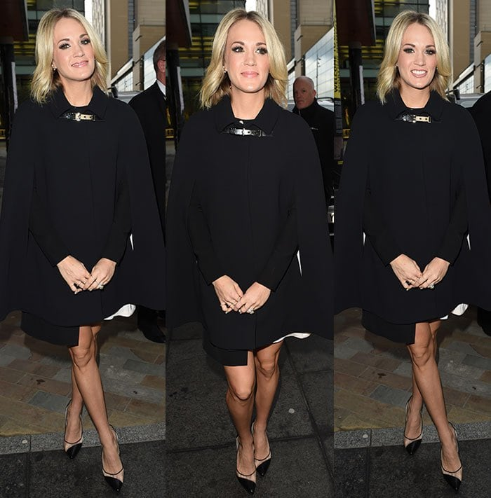 Carrie-Underwood-Wai-Ming-dress-Kate-Spade-coat