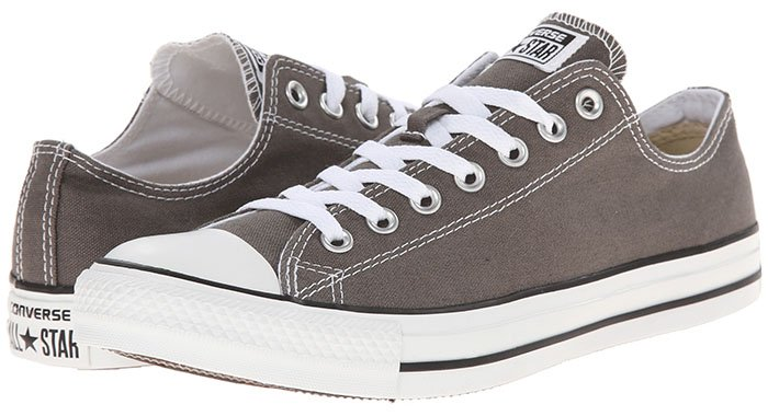 Converse Chuck Taylor All Star Core Ox Sneakers in Charcoal