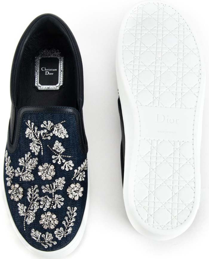 """Christian Dior """"Happy"""" Sneakers"""