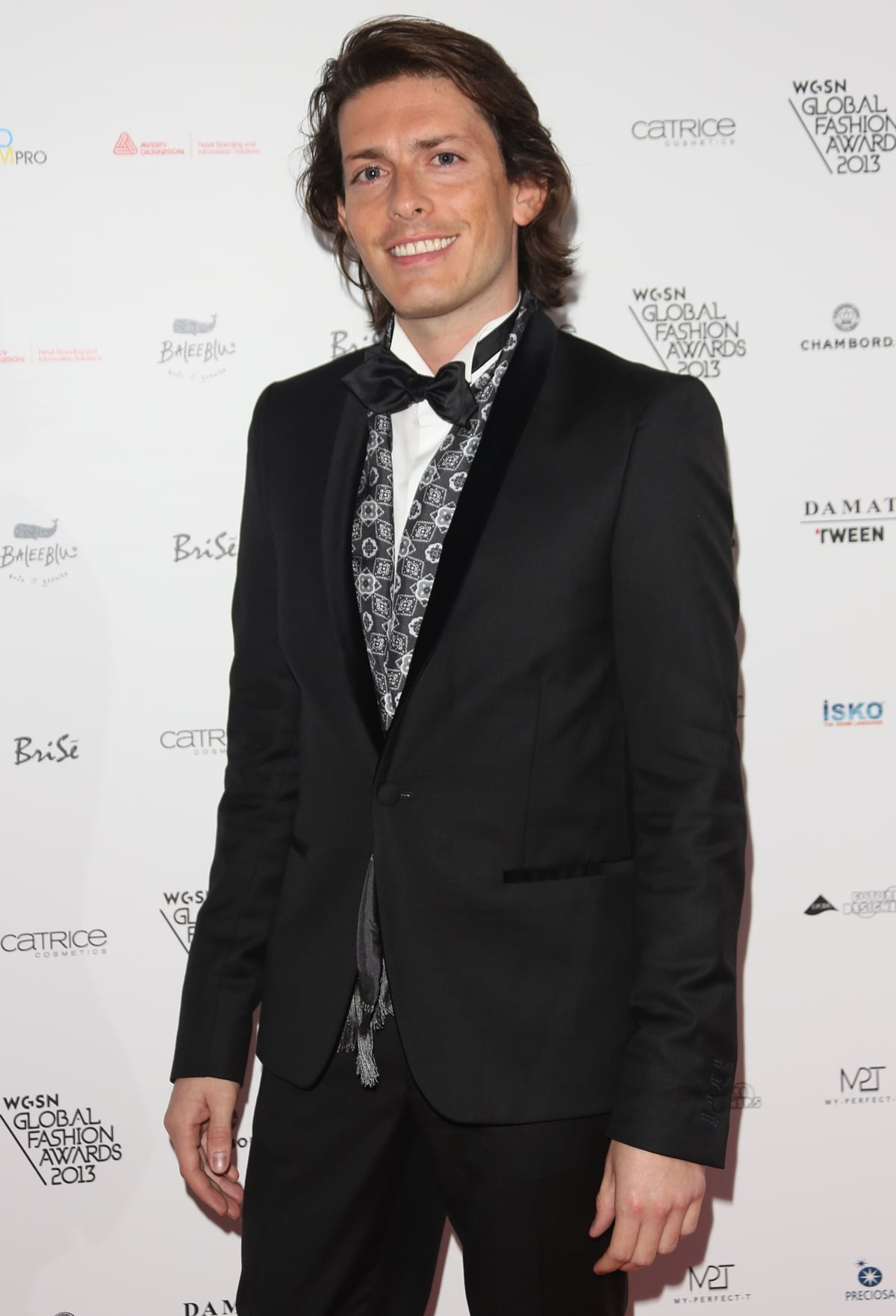 Edgardo Osorio arrives at The WGSN Global Fashion Awards at the Victoria & Albert Museum