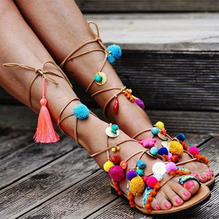716fc9d91ee2 Handcrafted Greek Elina Linardaki  Penny Lane  Sandals