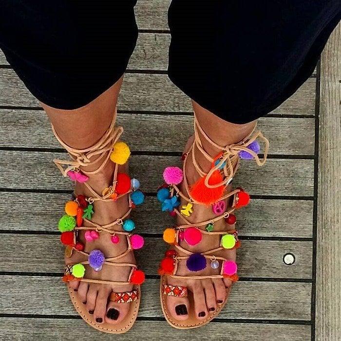 Elina Linardaki Penny Lane Lace Up Shoes