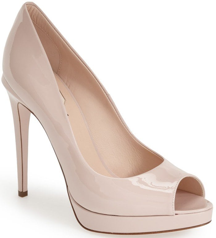 Fendi 'Sophie' Peep Toe Pump